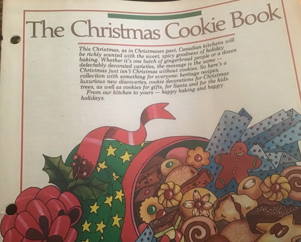 This image has an empty alt attribute; its file name is ChristmasCookieBook.jpg